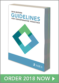 2018 Guidelines for Perioperative Practice