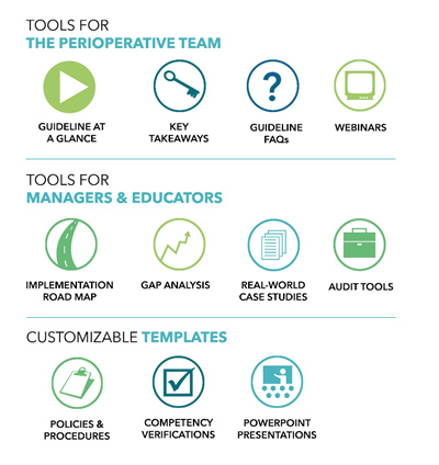 Tools included in Guideline Essentials