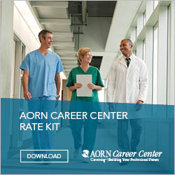 AORN Career Center Rate Kit