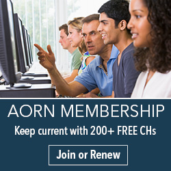 AORN Membership - Keep Current with 200+ FREE CHs