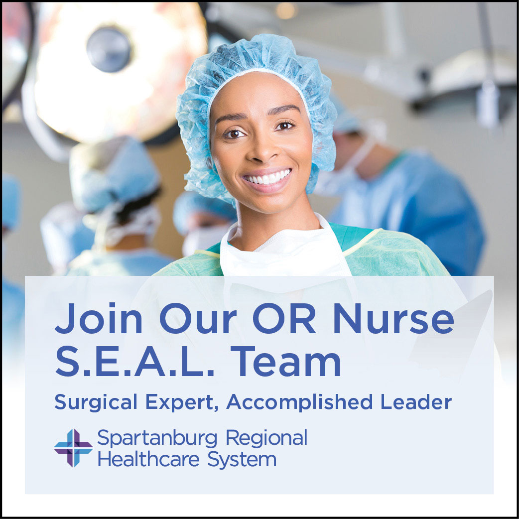 Join the Spartanburg Health OR Nurse Team