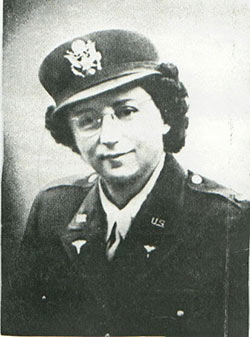 Second Lt. Frances Stanger