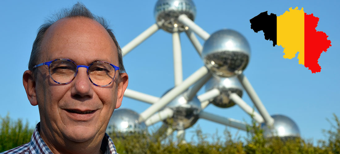 Willième in Brussels at the Atomium