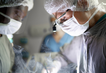 Surgeons and Staff in OR