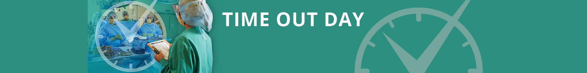 National Time Out Day 2019 - 15th Anniversary