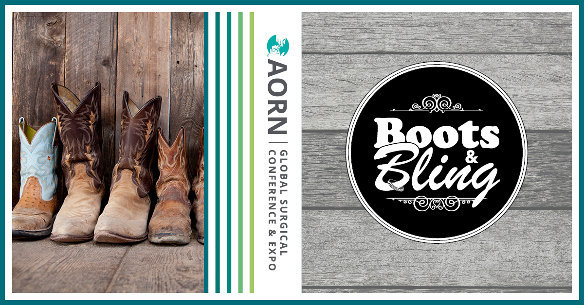AORN Foundation Boots & Bling