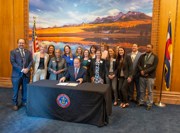 Governor Jared Polis signs Colorado's surgical smoke bill