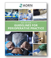 AORN Guidelines for Perioperative Practice - 2020 Print Edition
