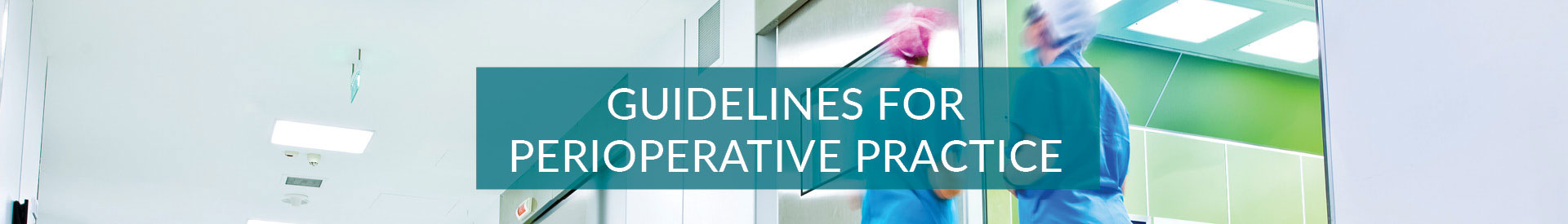 AORN Guidelines for Perioperative Practice