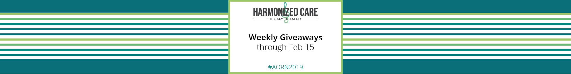 Weekly Giveaways through February 15